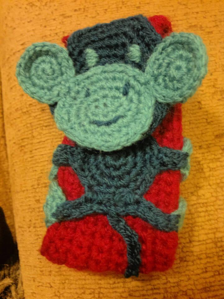 Crochet Monkey Phone Case