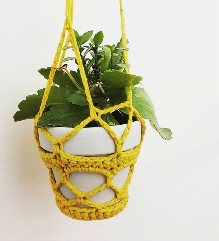 Crochet Pot Plant Hanger