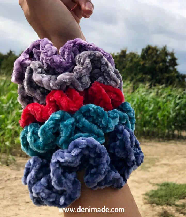 Crochet Sophie Scrunchie Free Pattern