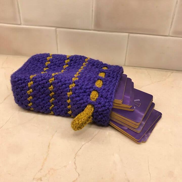 Crochet Sparkleworks Card Bag