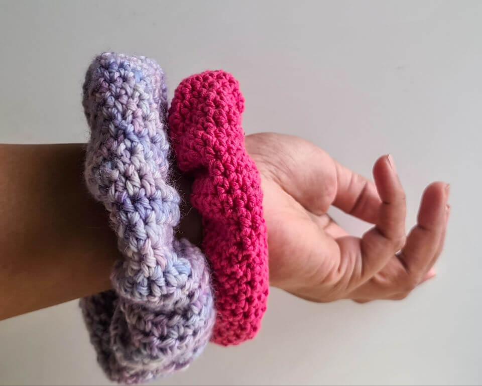 Crochet Squishy Scrunchie Pattern