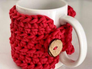 Crochet Stay Home Mug Cozy