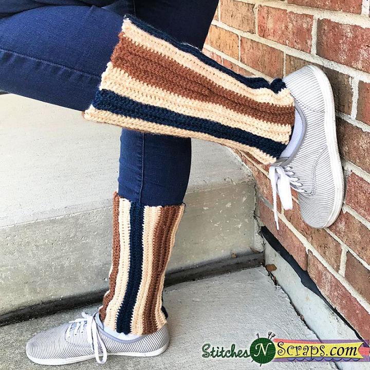 Crochet Stretchy Leg Warmers Pattern