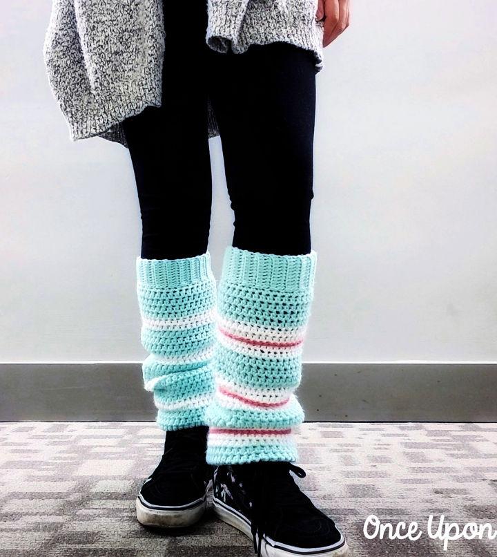 Crochet Sugar Rush Leg Warmers