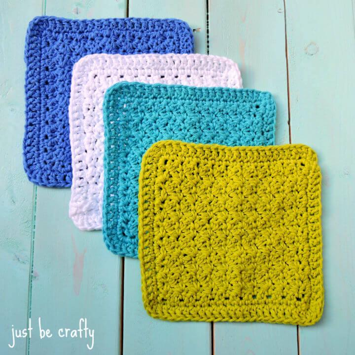 Crochet Textured Dishcloths