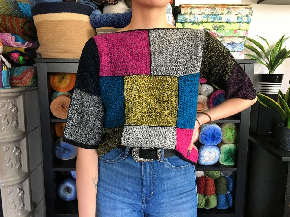 Crochet Women Sweater Pattern