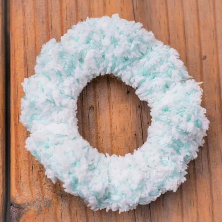 Crochet Yarn Scrunchie Pattern