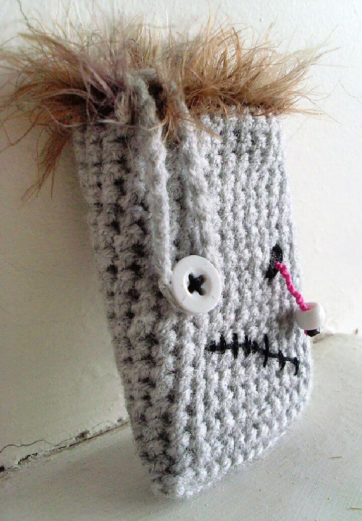 Crochet Zombie Phone Case