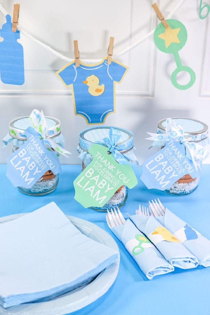 DIY Baby Shower Favor