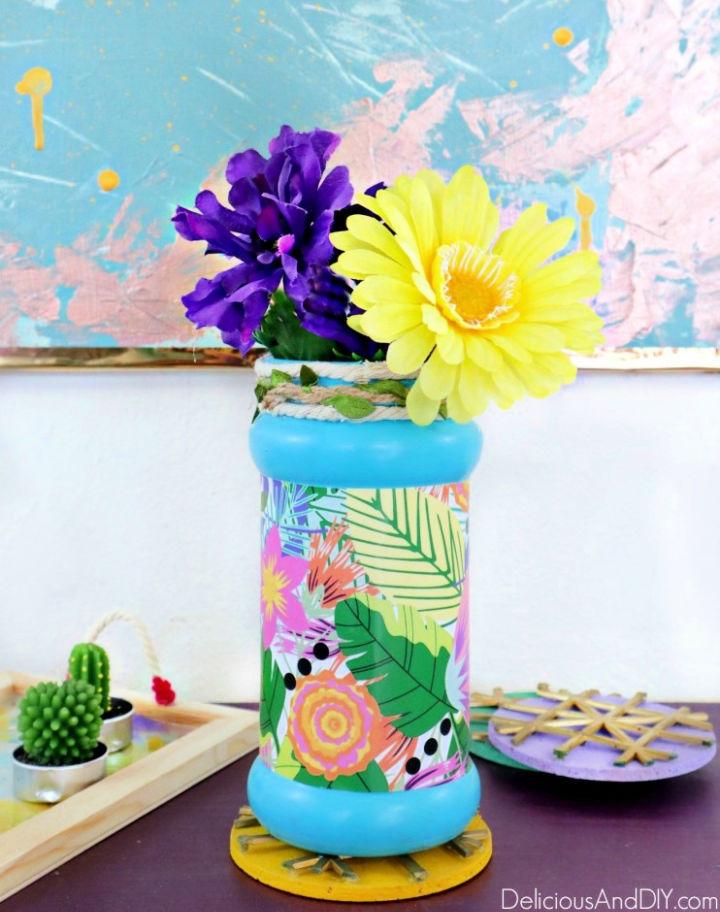 DIY Decorative Flower Vase