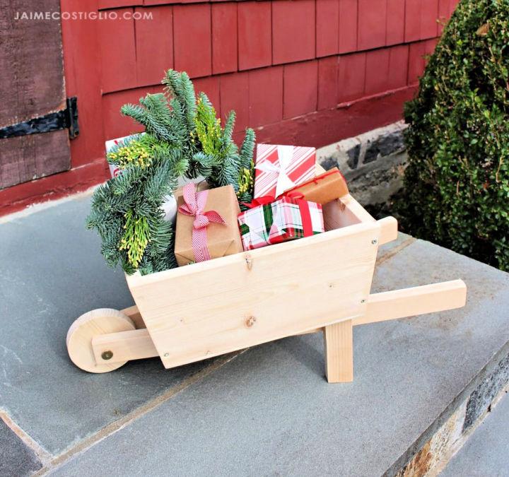 DIY Kids Wheelbarrow
