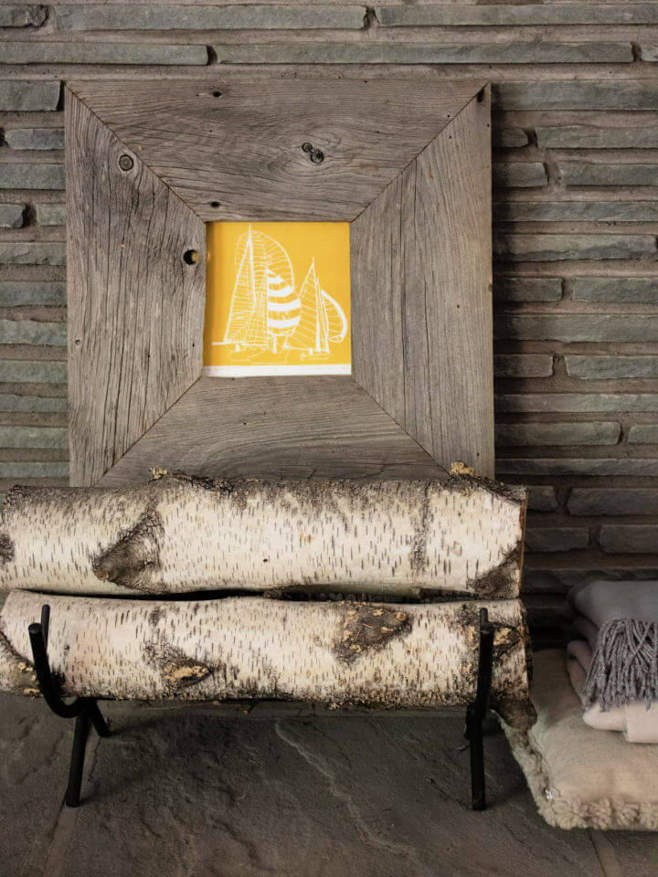 DIY Rustic Picture Frame