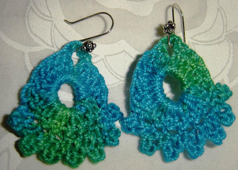 Dainty Earrings Crochet Pattern