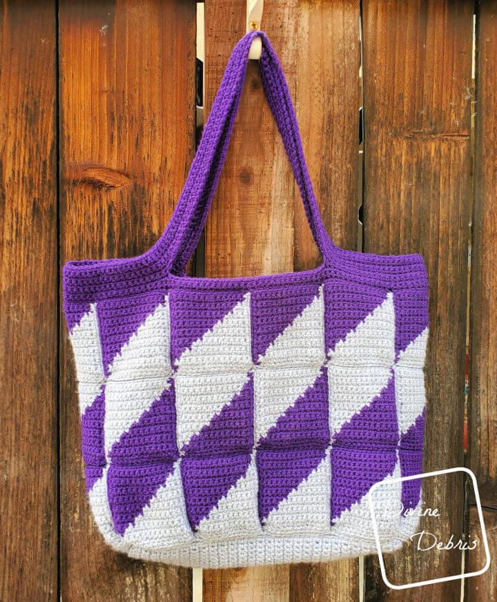 Divine Diamonds Bag Crochet Pattern