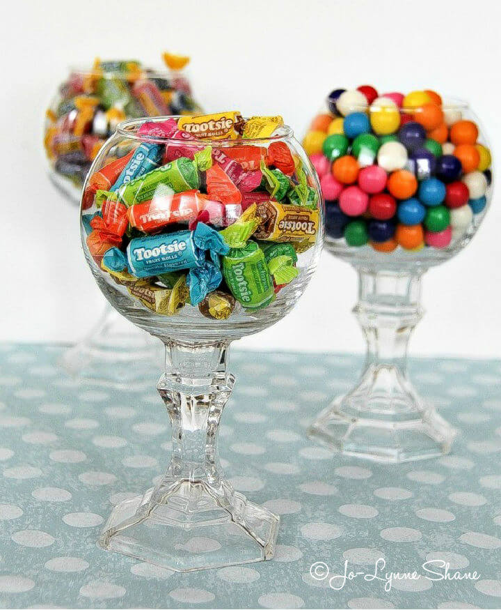 Dollar Store Candy Jar for Parties