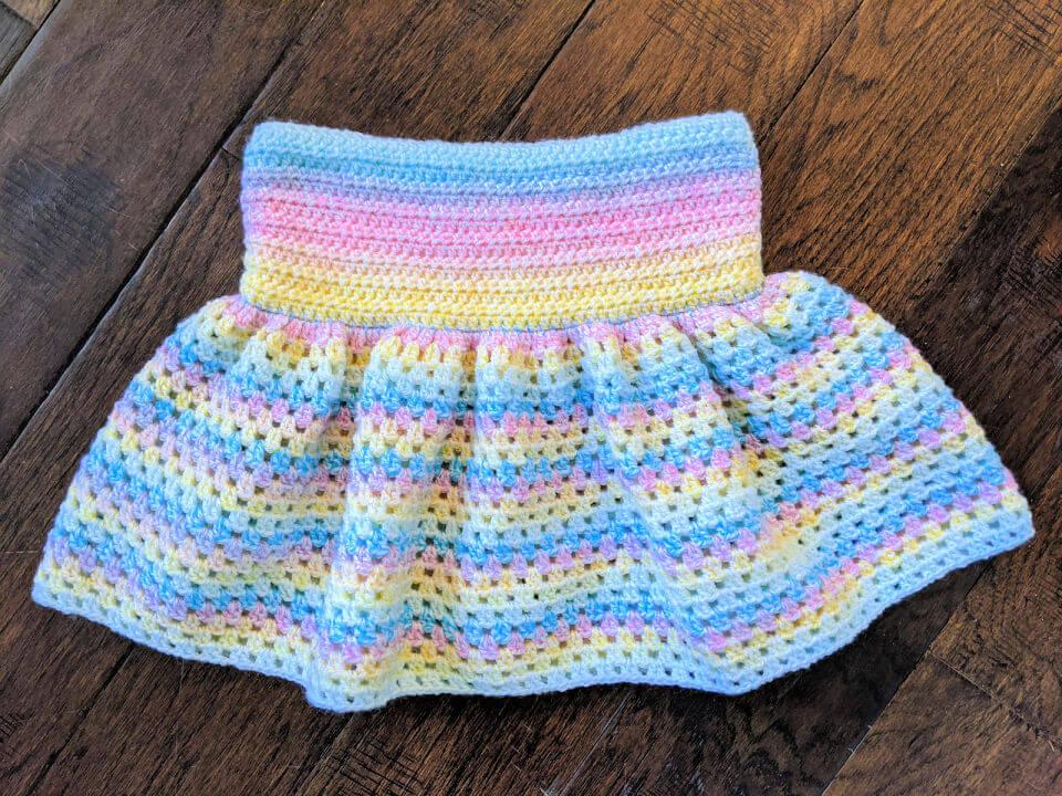 Emilia Skirt Crochet Pattern