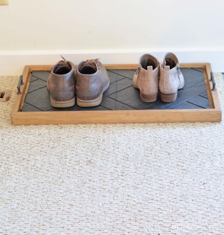 Entryway Shoe Tray