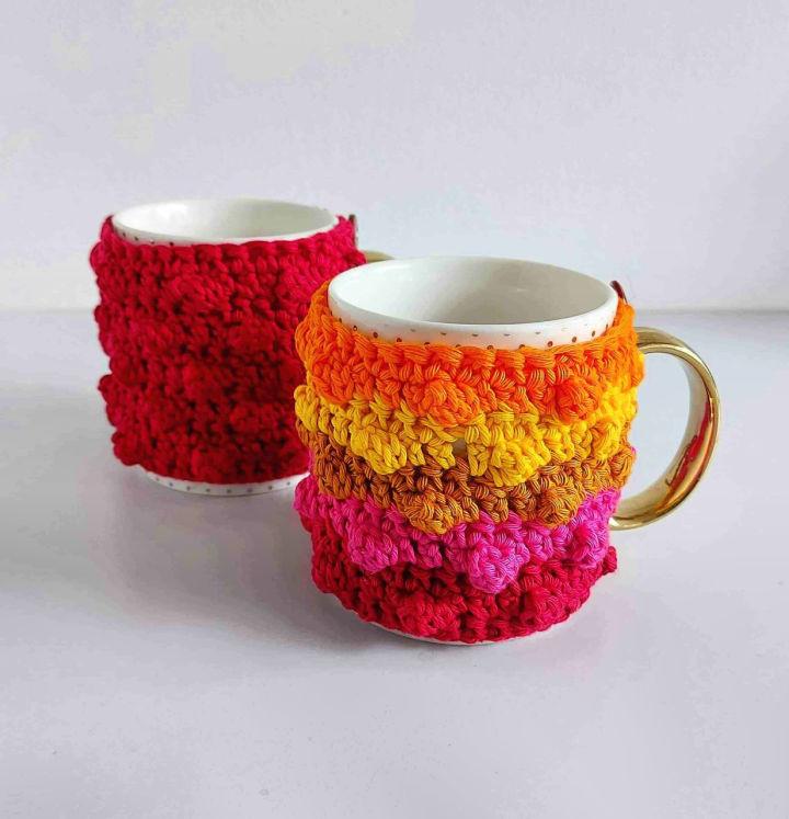Free Crochet Mug Cozy Pattern