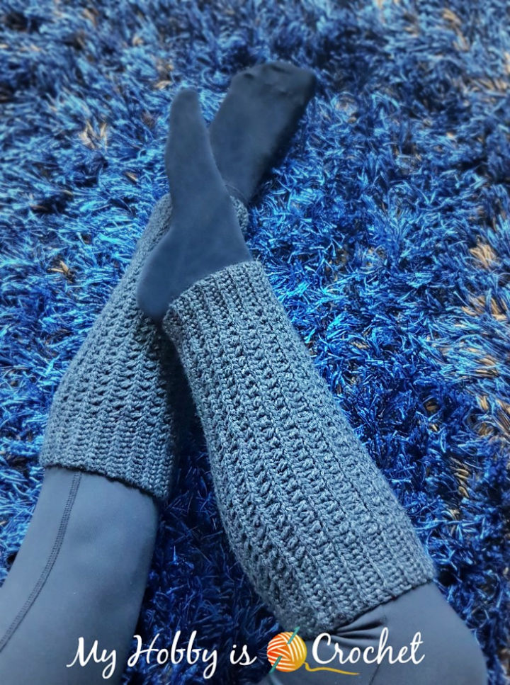 Free Crochet Ribby Legwarmers Pattern