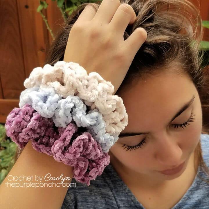 Free Crochet Scrunchie Pattern