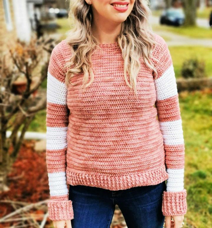 Free Crochet Seventeenth Sweater Pattern