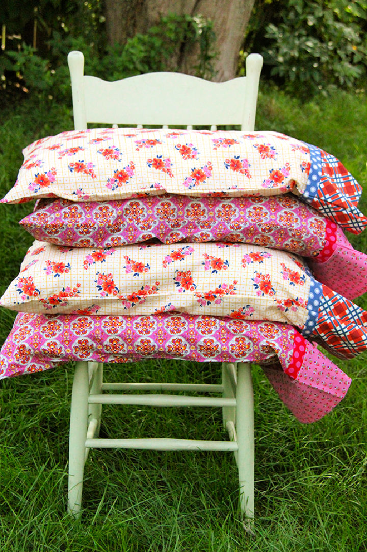 French Seam Pillowcase in 30 Minutes