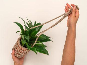 Handmade Crochet Plant Hanger