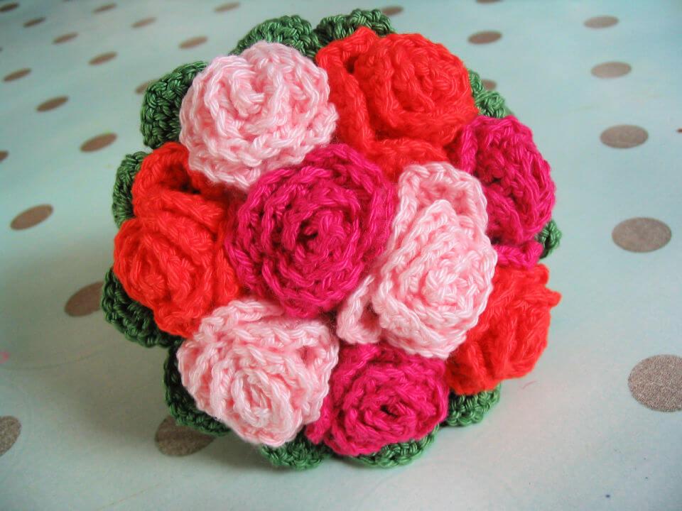 How to Crochet Flower Bouquet