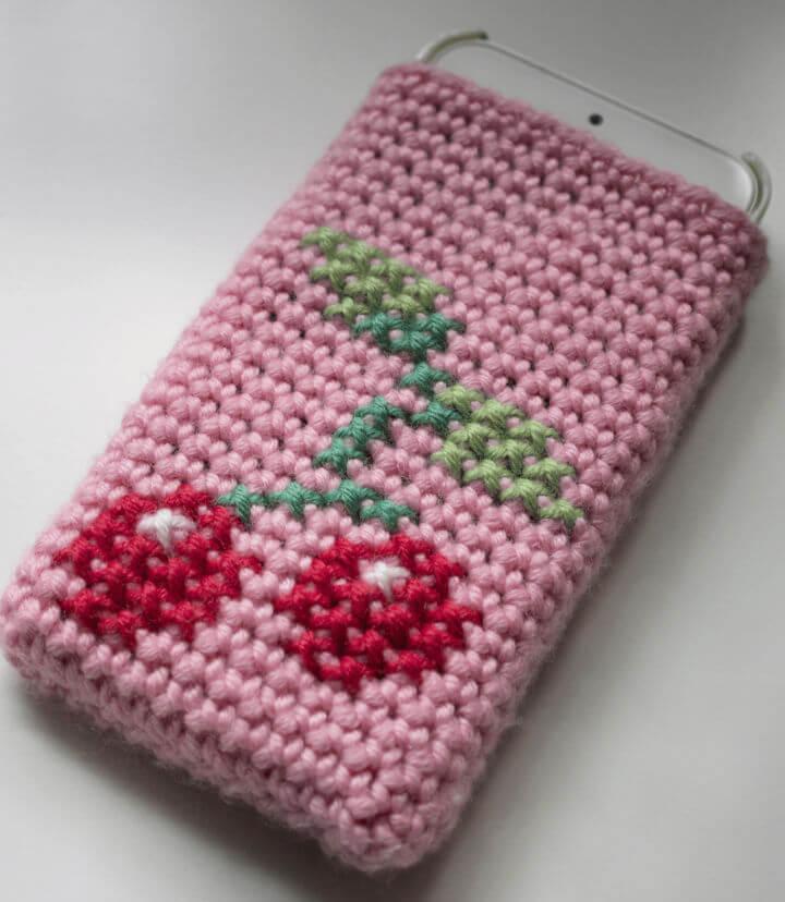 How to Crochet Phone Cosy