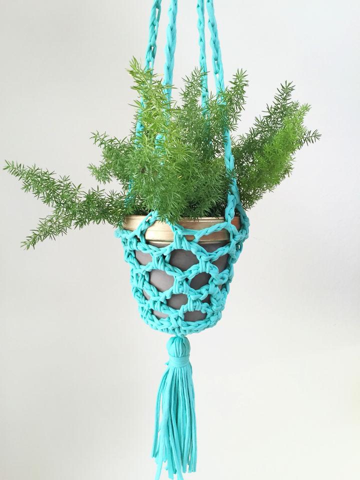 How to Crochet Plant Hanger