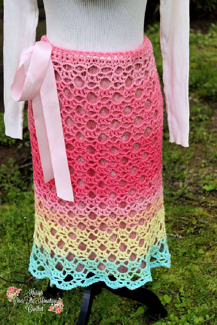 How to Crochet a Lace Skirt