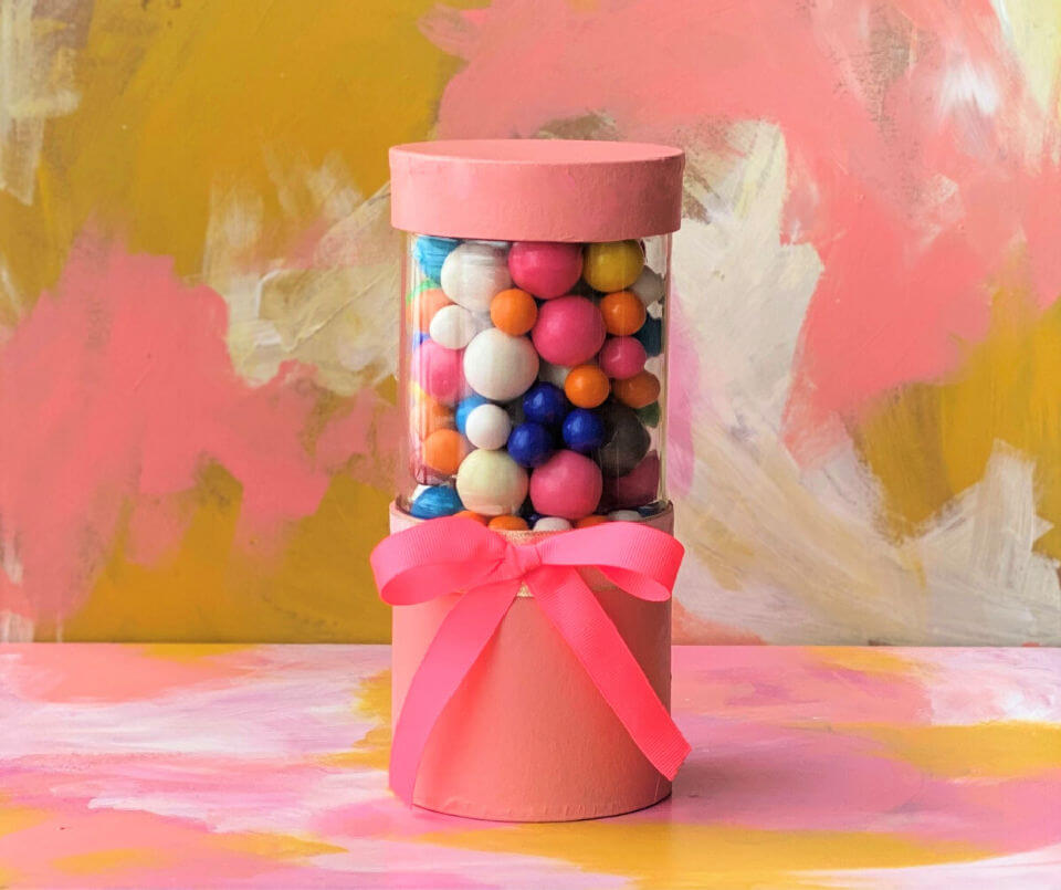 How to Make a Candy Dish Container