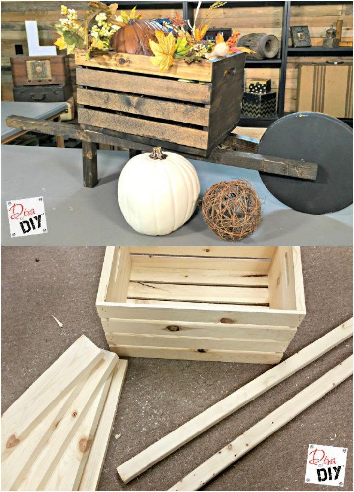 How to Make a Seasonal Wheelbarrow