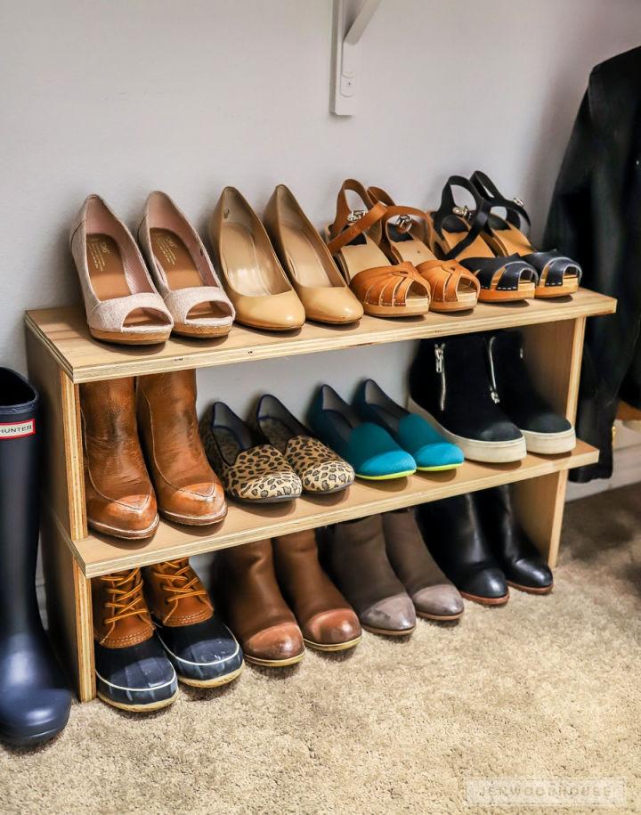 How to Make a Shoe Organizer