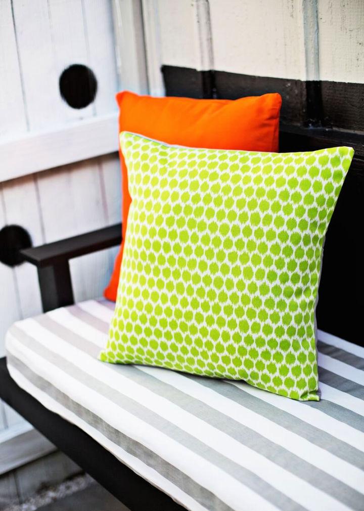 How to Make an Outdoor Pillowcase