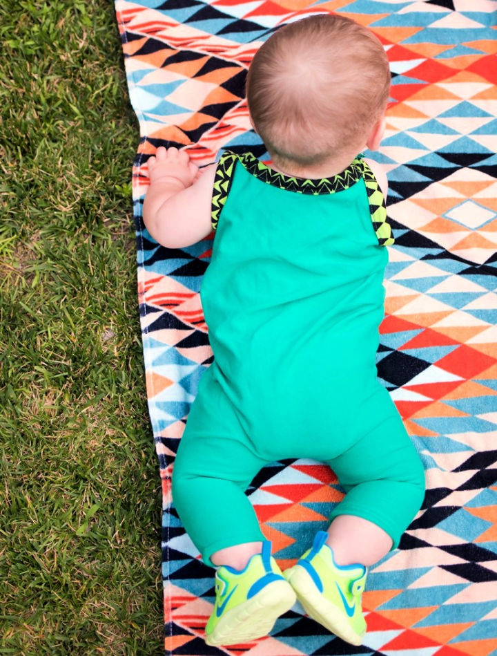 How to Sew a Baby Romper