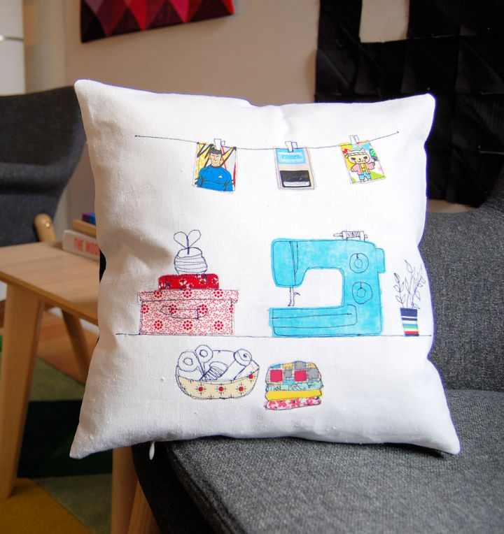 Invisible Zipper Pillow Cover