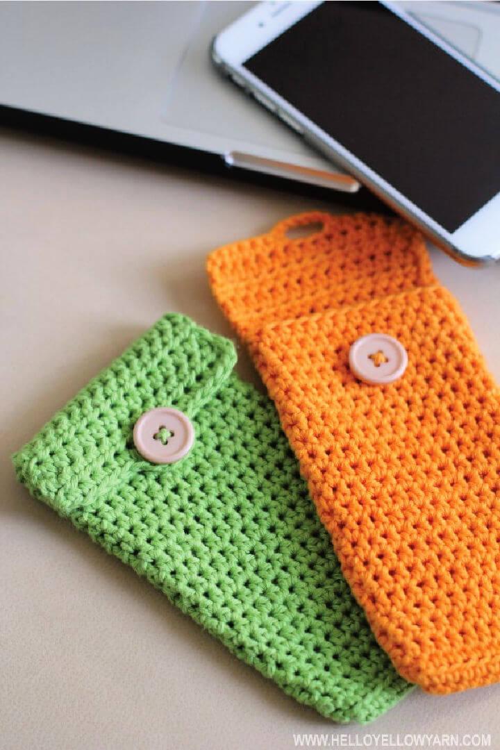 Iphone 6 Crocheted Sleeve Pattern