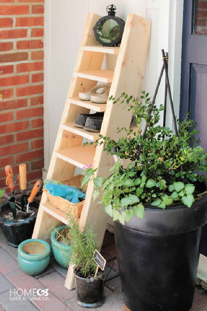 Ladder Shoe Shelf for Beginner