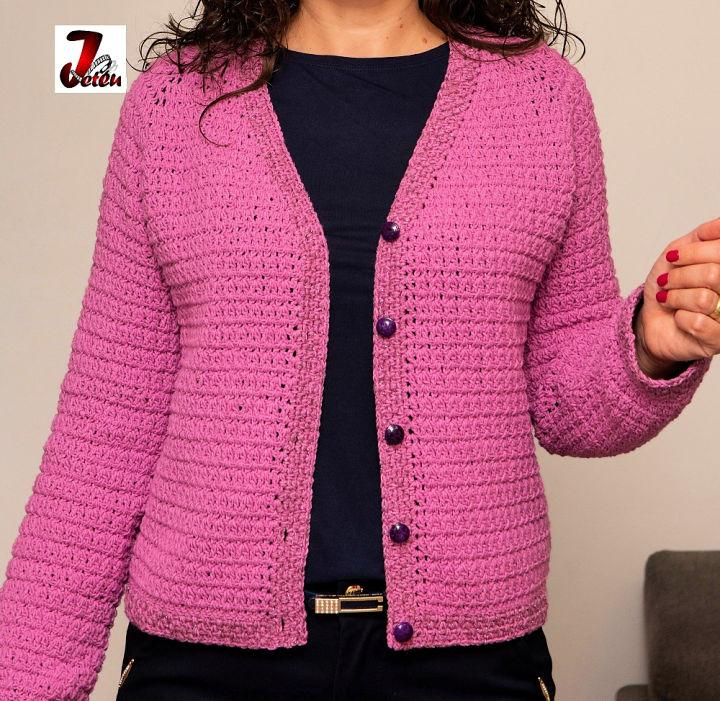 Lavender Crochet Jacket Pattern