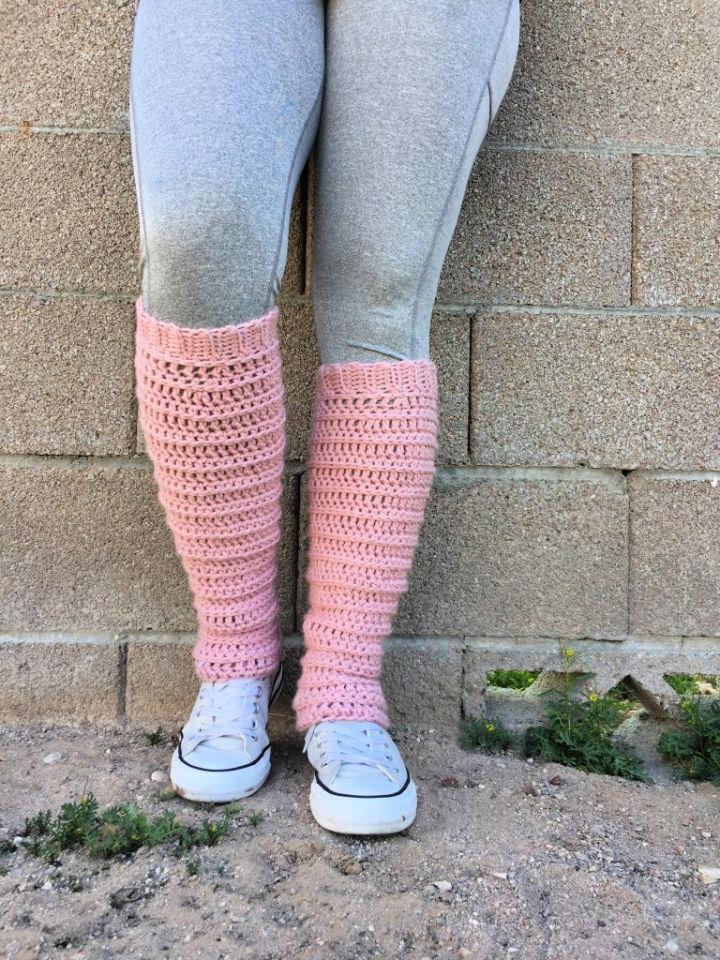 Leg Warmers Crochet Pattern