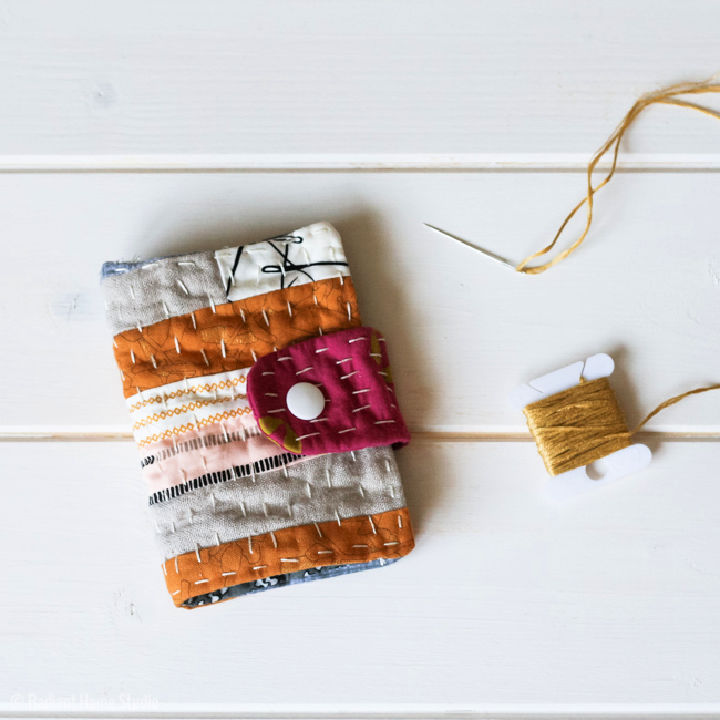 Little Kantha Scrappy Needle Book