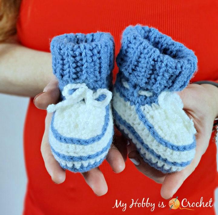 Little Stefan Crochet Baby Booties