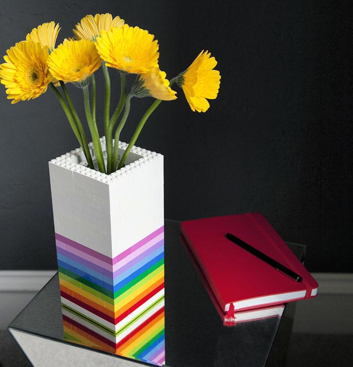 Make Your Own Lego Vase