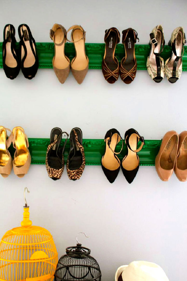 Make Your Own Shoe Rack