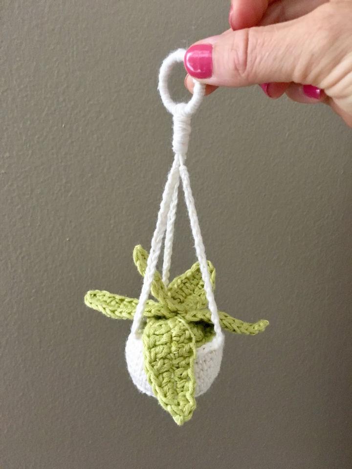 Mini Plant Hanger Crochet Pattern