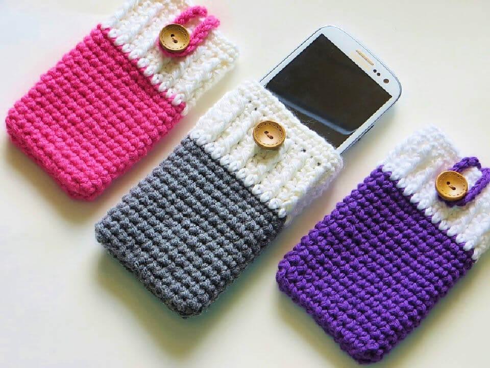 Mobile Phone Case Crochet Pattern