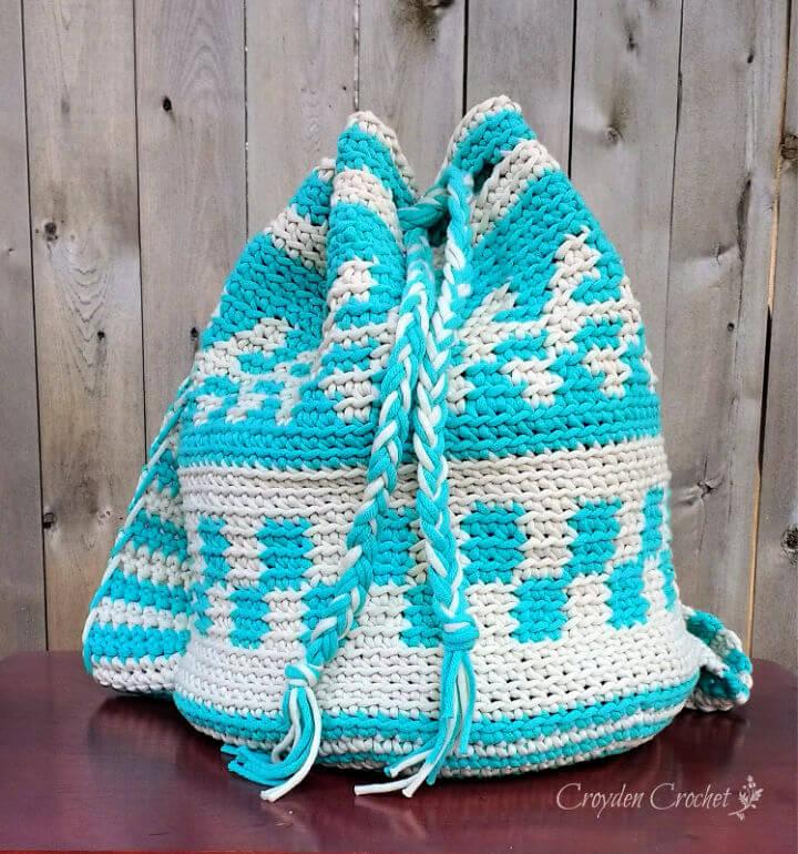 Mochila Bag Crochet Pattern