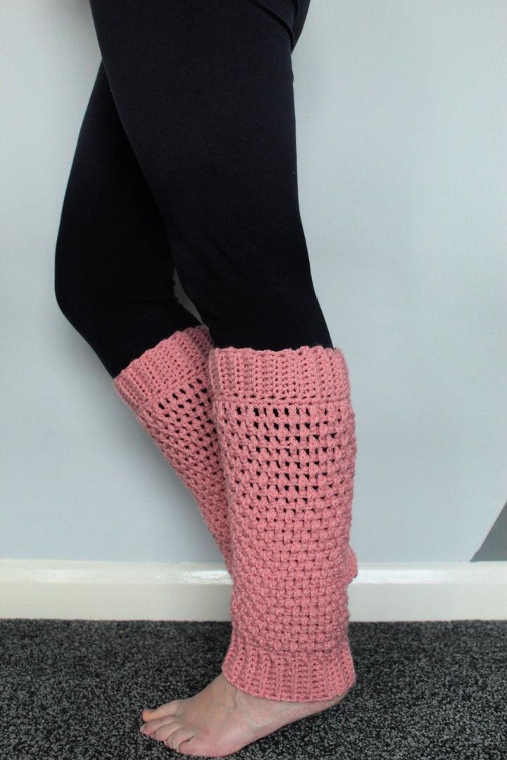 Mountain Crochet Leg Warmers