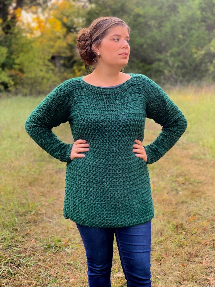Okie Girl Sweater Crochet Pattern